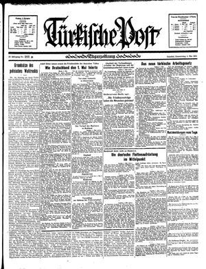 Türkische Post vom 02.05.1935