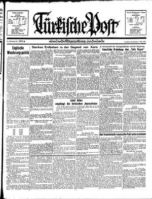 Türkische Post on May 4, 1935