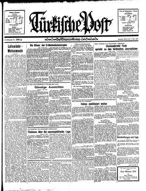 Türkische Post vom 08.05.1935