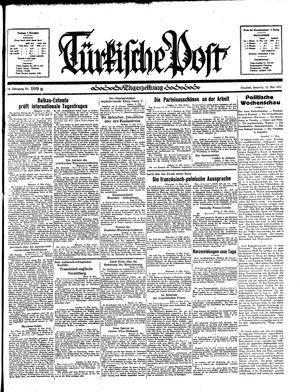Türkische Post vom 12.05.1935