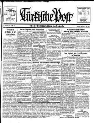 Türkische Post vom 13.05.1935