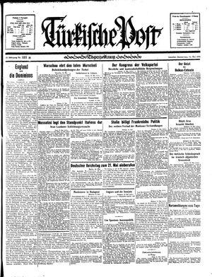 Türkische Post vom 16.05.1935