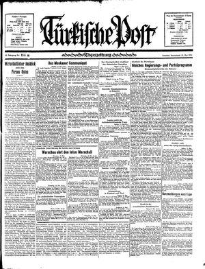 Türkische Post vom 18.05.1935