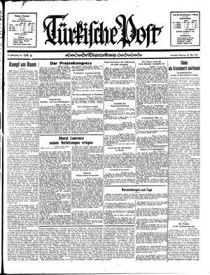 Türkische Post vom 20.05.1935