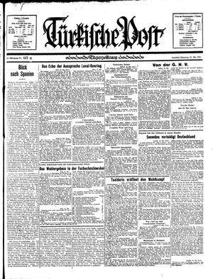 Türkische Post vom 21.05.1935