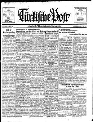 Türkische Post vom 22.05.1935