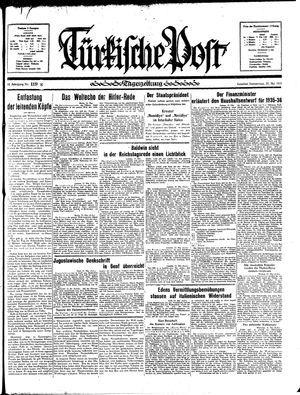 Türkische Post on May 23, 1935
