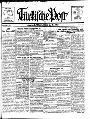 Türkische Post on May 25, 1935