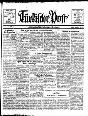 Türkische Post vom 26.05.1935