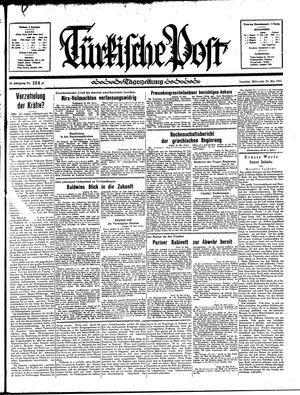 Türkische Post vom 29.05.1935