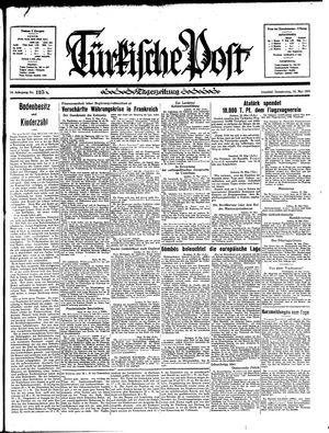 Türkische Post vom 30.05.1935