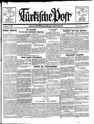 Türkische Post vom 03.06.1935
