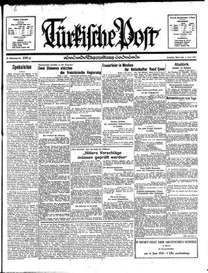 Türkische Post vom 05.06.1935