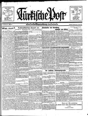 Türkische Post vom 06.06.1935