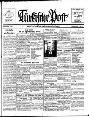 Türkische Post vom 07.06.1935