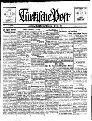 Türkische Post vom 08.06.1935