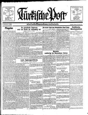 Türkische Post vom 10.06.1935