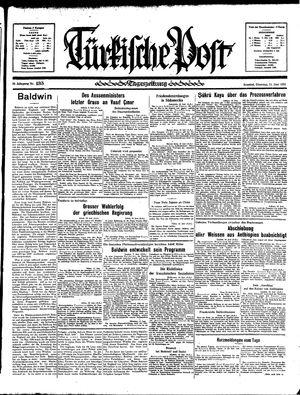 Türkische Post vom 11.06.1935