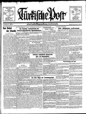 Türkische Post vom 13.06.1935