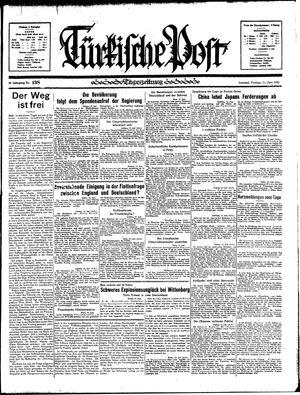Türkische Post vom 14.06.1935
