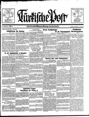 Türkische Post vom 15.06.1935