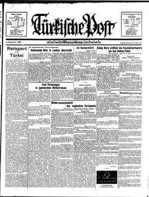 Türkische Post vom 18.06.1935