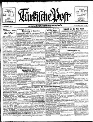 Türkische Post vom 19.06.1935
