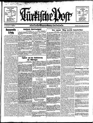 Türkische Post vom 20.06.1935