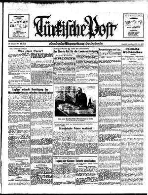 Türkische Post vom 22.06.1935