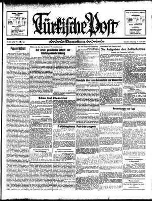 Türkische Post vom 25.06.1935