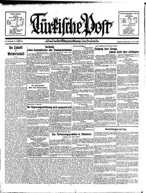 Türkische Post vom 27.06.1935