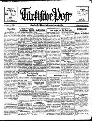 Türkische Post vom 02.07.1935