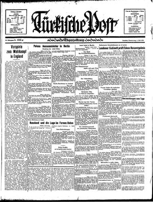 Türkische Post vom 04.07.1935
