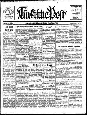 Türkische Post vom 05.07.1935