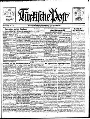Türkische Post vom 06.07.1935