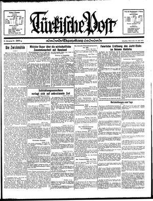 Türkische Post vom 10.07.1935