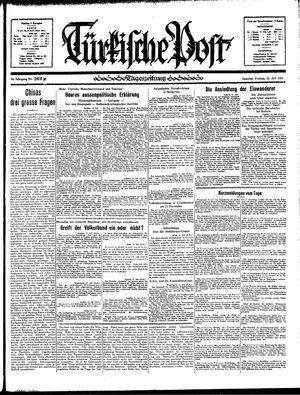 Türkische Post vom 12.07.1935