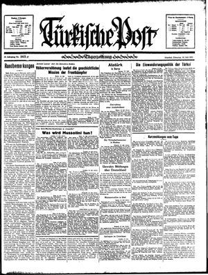 Türkische Post vom 16.07.1935