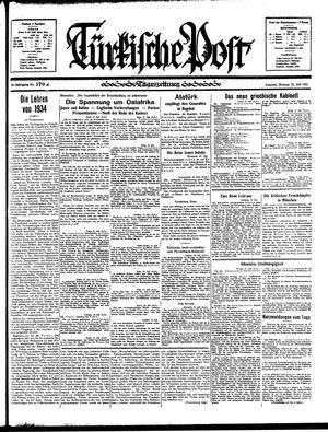 Türkische Post on Jul 22, 1935