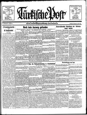 Türkische Post vom 26.07.1935