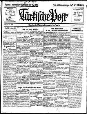 Türkische Post vom 27.07.1935