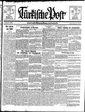 Türkische Post vom 29.07.1935