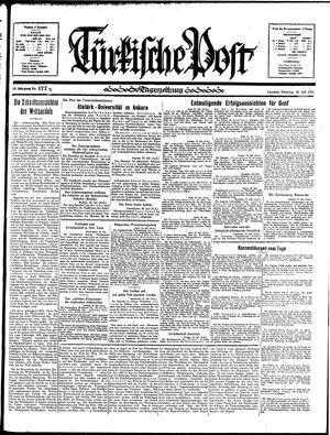 Türkische Post vom 30.07.1935
