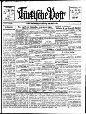 Türkische Post on Jul 31, 1935