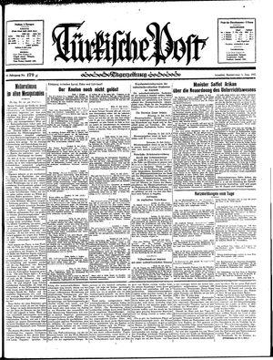 Türkische Post vom 01.08.1935