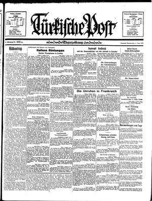 Türkische Post vom 08.08.1935