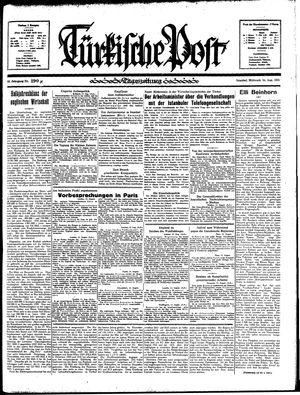 Türkische Post vom 14.08.1935