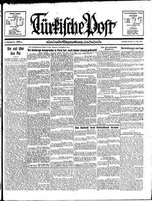 Türkische Post vom 16.08.1935