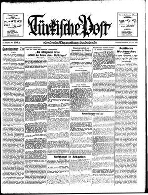 Türkische Post vom 17.08.1935