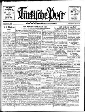Türkische Post vom 20.08.1935